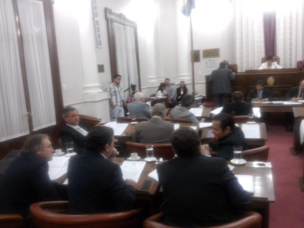 La sesi n del senado para aprobar ley de ministerios y for Ley de ministerios